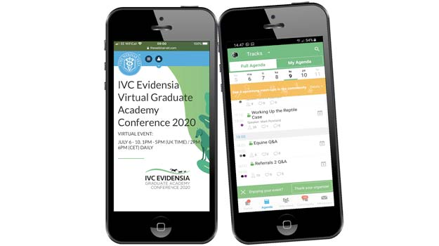 IVC Evidensia conference app