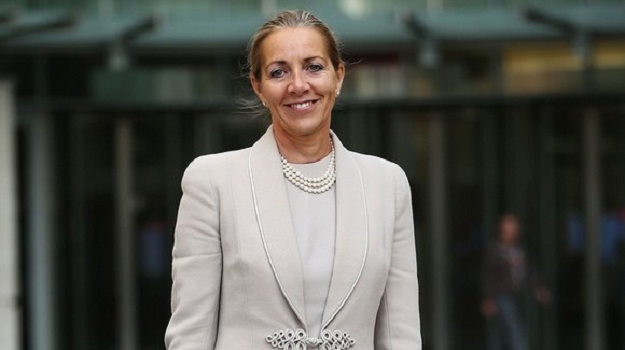 Rona Fairhead spends up to 100 days a year working