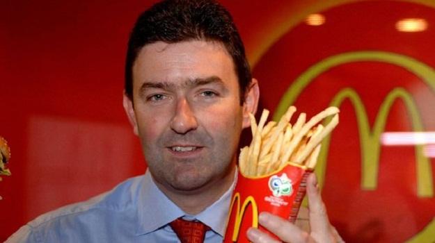 High fryer: Steve Easterbrook becomes president an