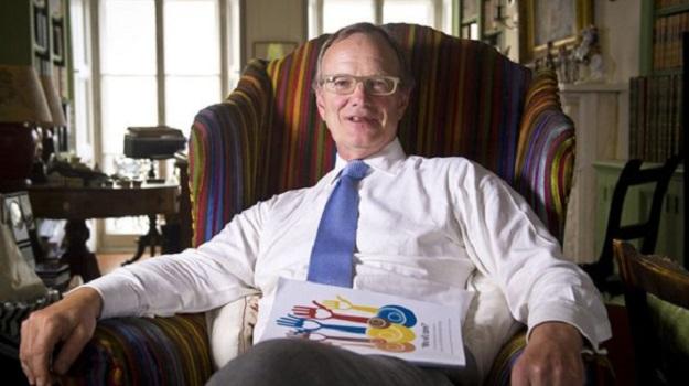 Sir Thomas Hughes-Hallett is urging City people in
