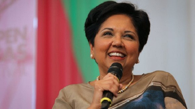 Indra Nooyi, chief executive of PepsiCo, says her