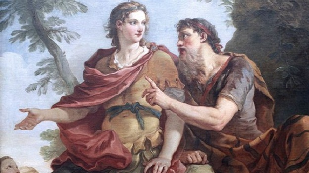 Telemachus heeds the words of Mentor in Charles-Jo