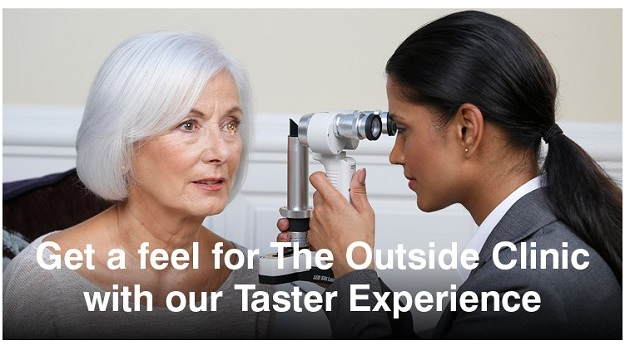 Get a feel for The Outside Clinic with a Taster Ex