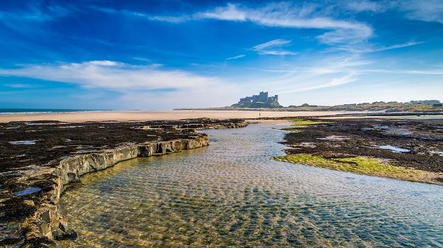 Bamburgh Castle Beach, Northumberland