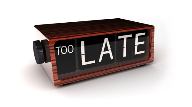 88% of hirers think turning up late for an intervi