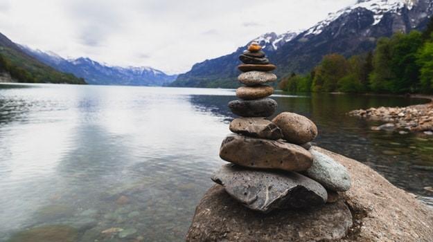 Balance pebbles