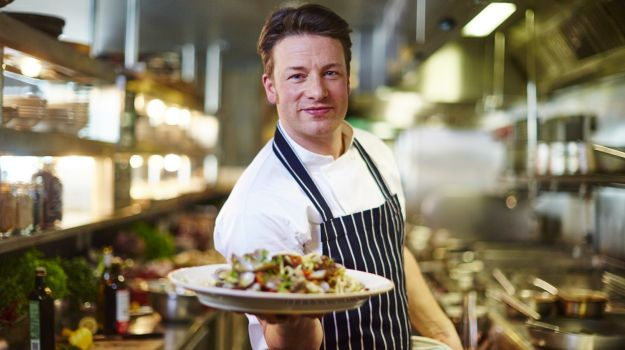 celebrity chef - jamie oliver