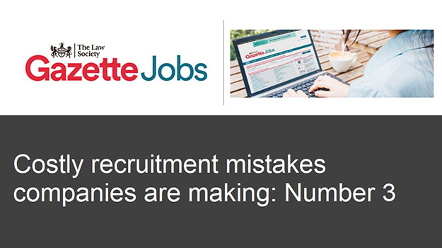 Costly recruitment mistakes: copying your competit
