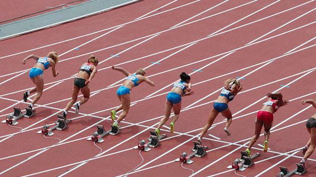 Image: London Olympics 2012 - Women's heptathlon (