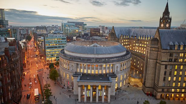Manchester's dynamic legal centre