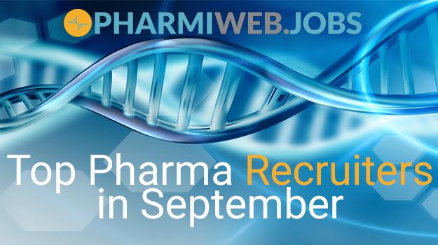 Top Pharma Recruiters Advertising in September 202