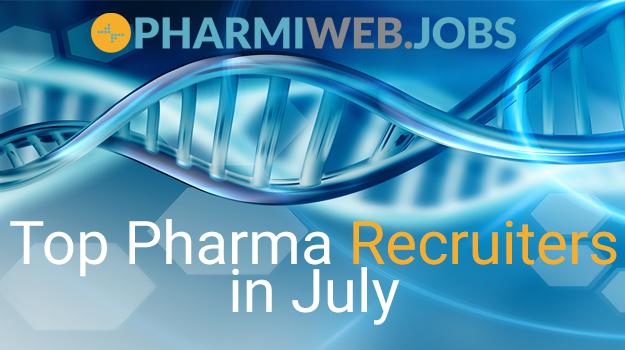 Top Pharma Recruiters Advertising in July 2021